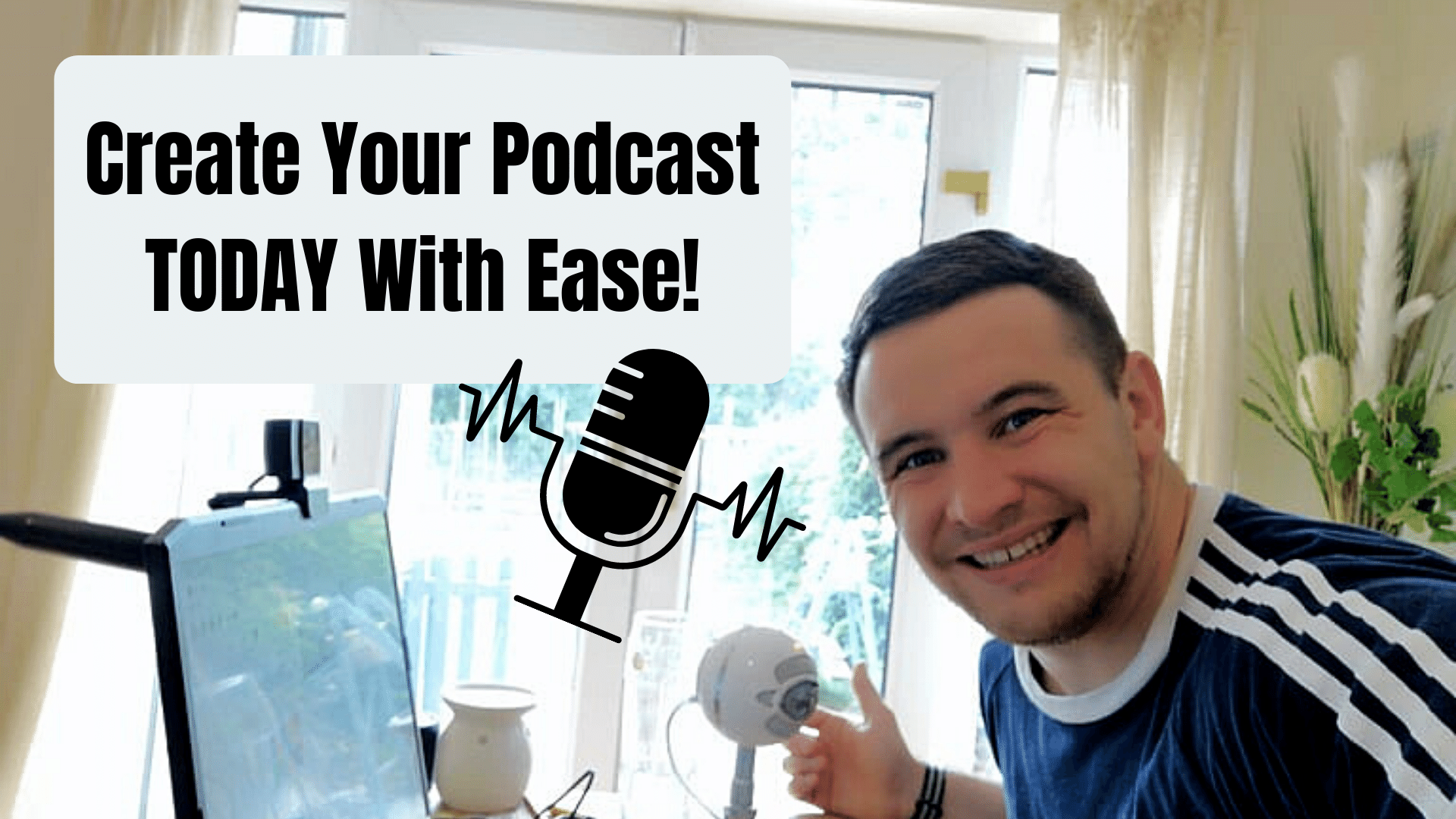 How To Make Your First Podcast Episode Fast And Easy!